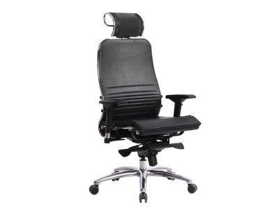 Компьютерное кресло Samurai K-3.03 черный-721 с ковриком СSm-25
