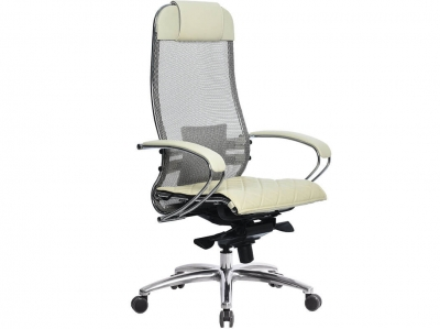 Компьютерное кресло Samurai S-1.03 бежевый с ковриком СSm-10