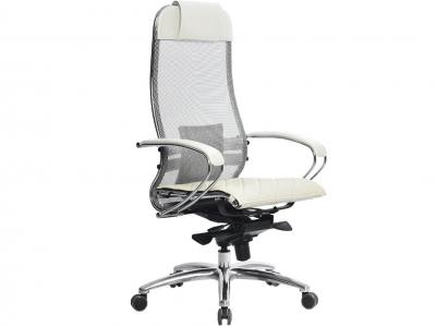 Компьютерное кресло Samurai S-1.03 белый лебедь с ковриком СSm-10