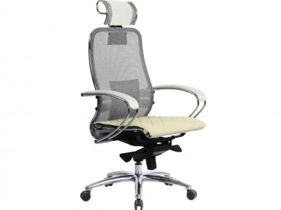 Компьютерное кресло Samurai S-2.03 белый лебедь с ковриком СSm-10