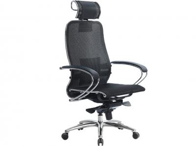Компьютерное кресло Samurai S-2.03 черный плюс