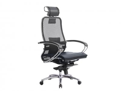 Компьютерное кресло Samurai S-2.03 черный с ковриком СSm-25