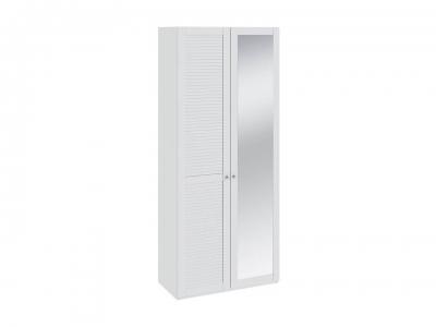 Шкаф для одежды с 1 глух. и 1 зерк. Ривьера СМ 241.22.002L Белый