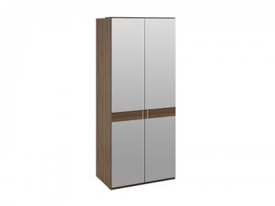 Шкаф для одежды с 2 зеркальными дверями Харрис СМ-302.07.005 Дуб американский