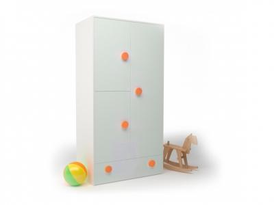 Шкаф створчатый Брусника Шафран ДМ-ШС-1-1 932-504-1816