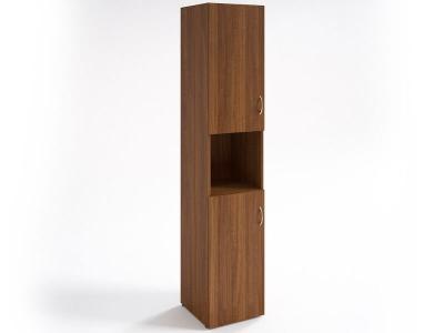 Шкаф для документов узкий НШ-12 Орех