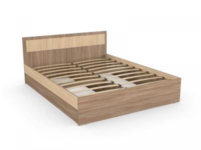 Кровать Дуэт 160 шимо ясень с основанием
