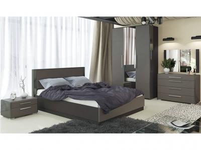Спальный гарнитур Наоми ГН-208.001 Серый, Джут