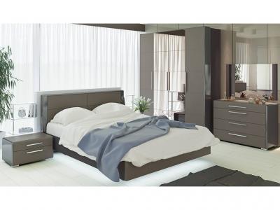 Спальный гарнитур Наоми ГН-208.002 Серый, Джут