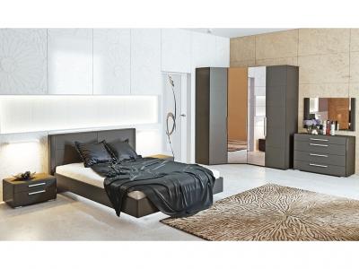 Спальный гарнитур Наоми ГН-208.003 Серый, Джут