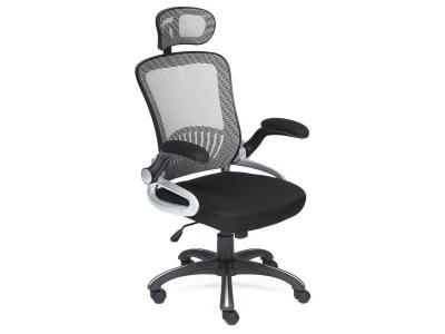 Кресло Mesh-2 ткань Чёрный - Серый