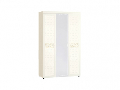 Шкаф трехдверный с зеркалом 93.12 Тиффани 1350х580х2250
