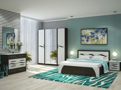 Спальня Валенсия с четырехстворчатым шкафом