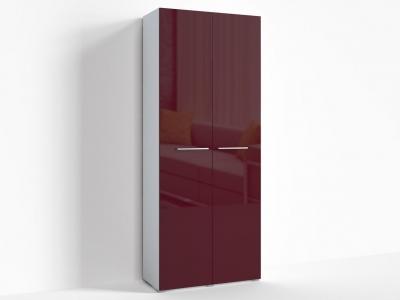 Шкаф Верба Г-ШС-2-1 900х520х2220 Бордо