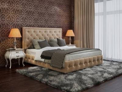 Кровать Вирджиния велюр